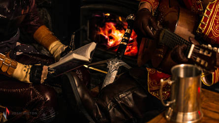 By the Fire - Dragon Age Cosplay