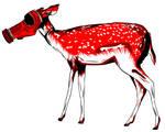 STENCIL - Female Deer