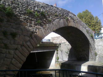Stone bridge by melusineblack