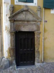 Une porte by melusineblack