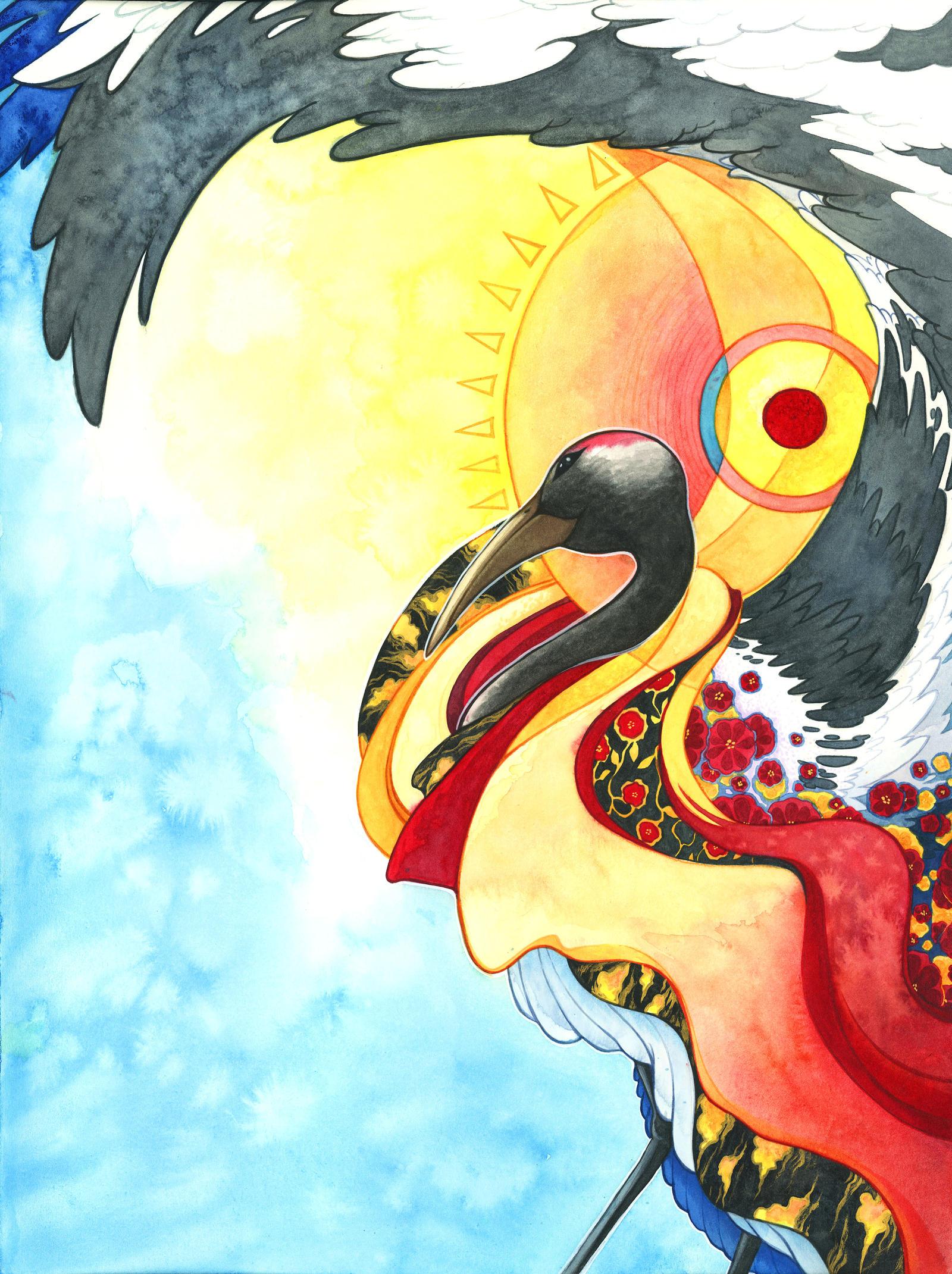Japan Charity Dance art by mementomoryo