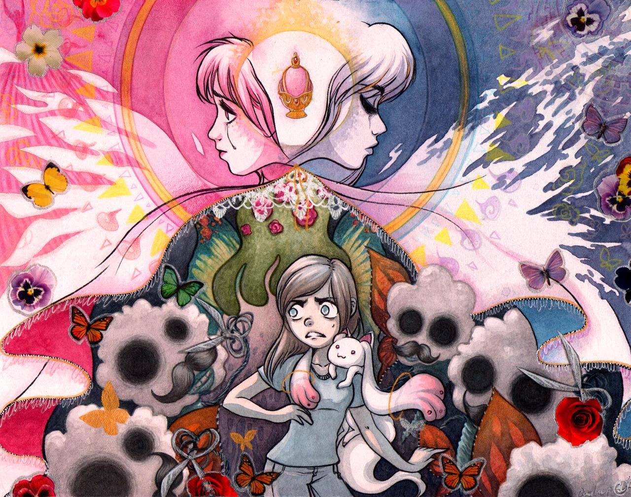 jesuotaku title card puella magi madoka magica by mementomoryo on
