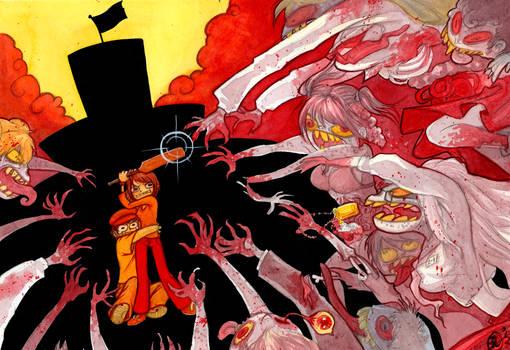JesuOtaku title card - High School of the Dead