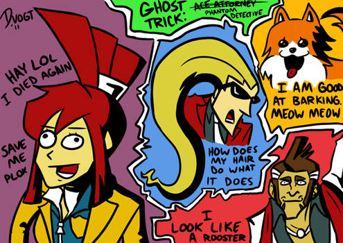 More Ghost Trick Derp