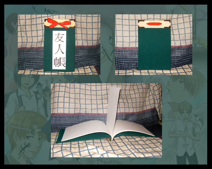 Natsume Yuujinchou - Handmade Yuujinchou by Himikai-chan