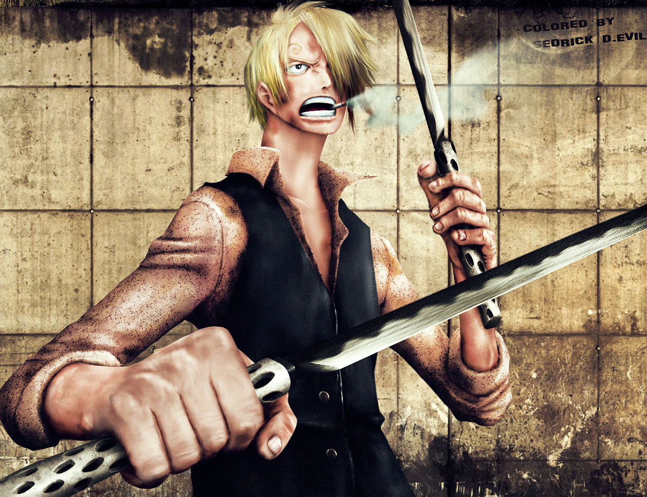Sanji by Sedrick-D-Evil