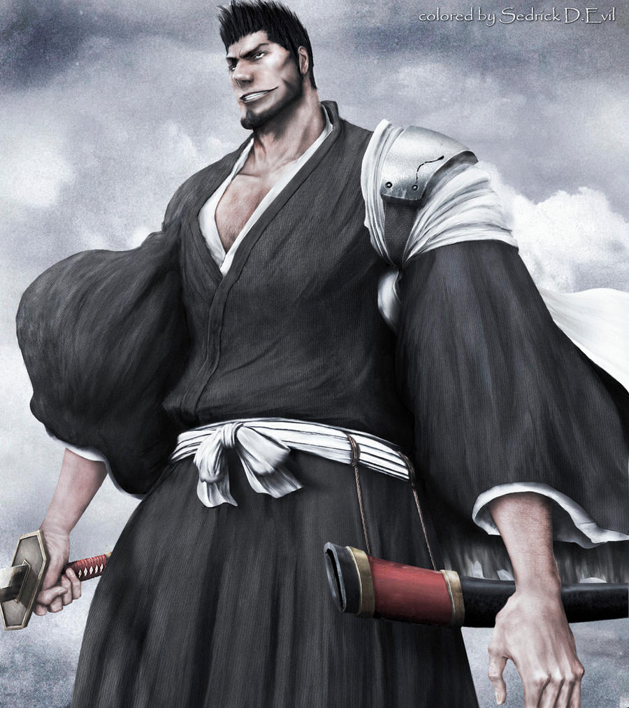 Bleach 397, Isshin by Sedrick-D-Evil