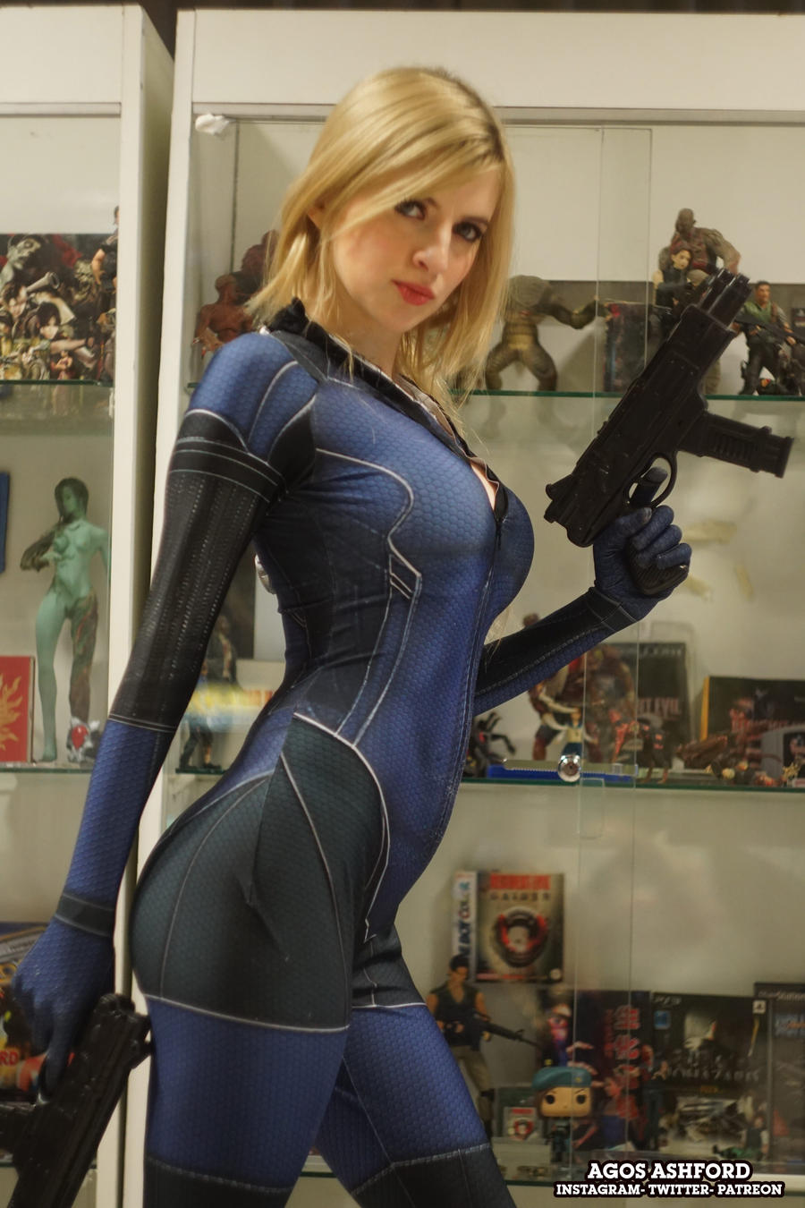Jill Valentine cosplay -
