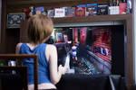 Jill playing Jill