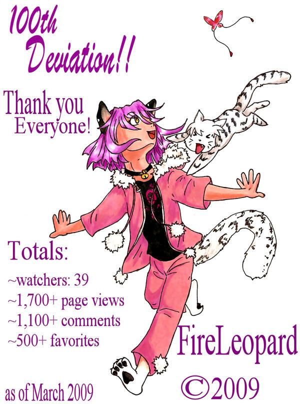 100th Deviation by FireLeopard
