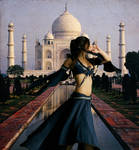 Desert Dancer of the Taj Mahal