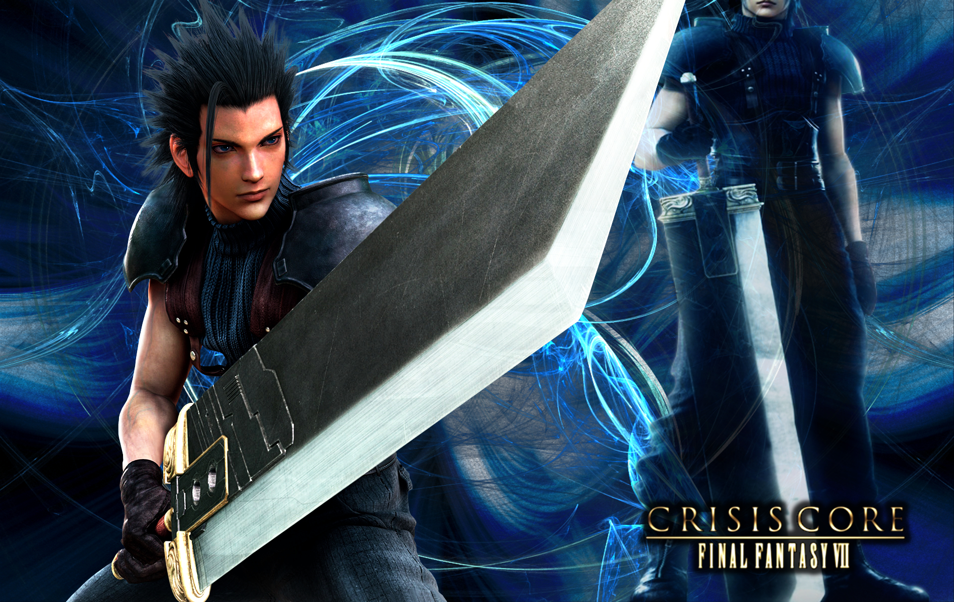 Final Fantasy 7 Crisis Core Zackfair By Viciousjosh On Deviantart