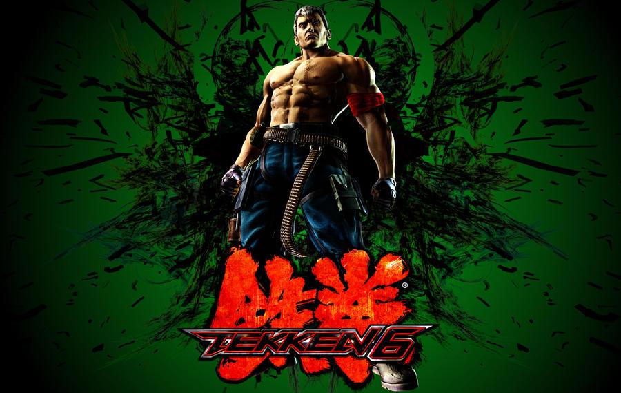 Tekken 6 Bryan Fury Wallpaper By Viciousjosh On Deviantart
