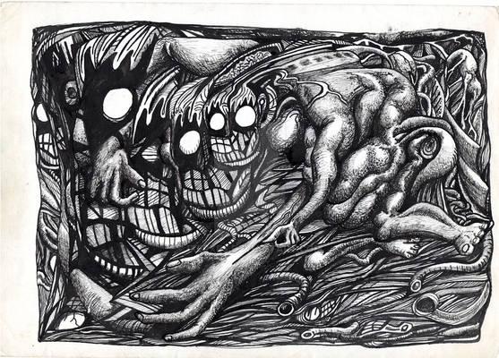 Grendel-Mother-Dream by Brian Benson