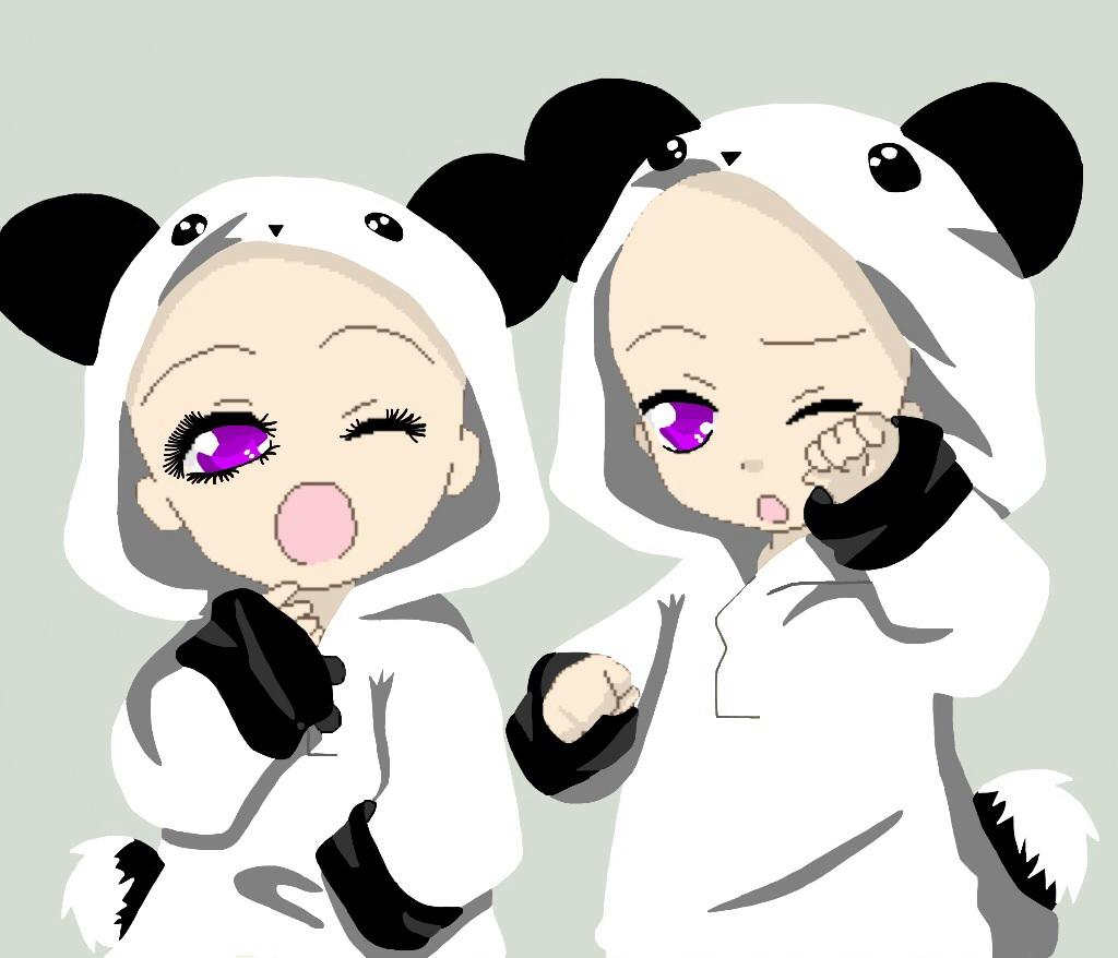 Panda Twin Hoodie Base By Bordomgirl5 On DeviantArt