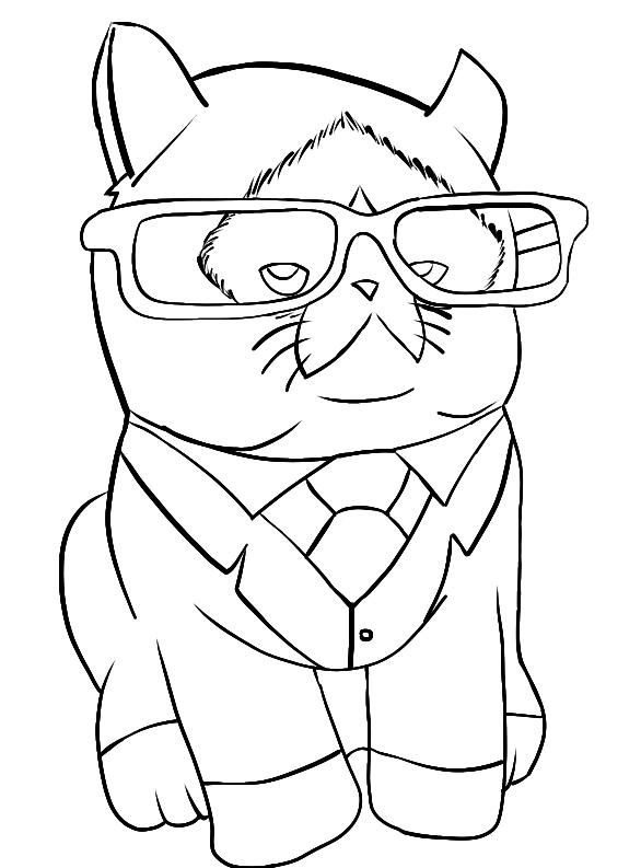 Business Catticus Grumperius by SuprVillain