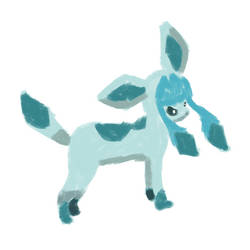 Lineless Glaceon