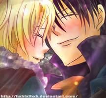 yuuri and wolfram love by hxhlxlhxh
