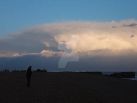 Anvil cloud bank