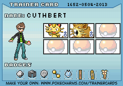 Makto Region's Pokemon League~GL#2-Cuthbert by ZeldaLover12