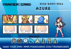 Makto Region's Pokemon League~GL#4-Azure by ZeldaLover12