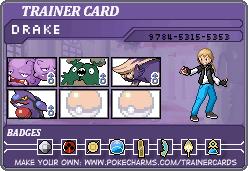 Makto Region's Pokemon League~E4#4-Drake by ZeldaLover12