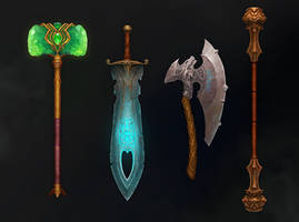 Weapon Concept by NestStrix
