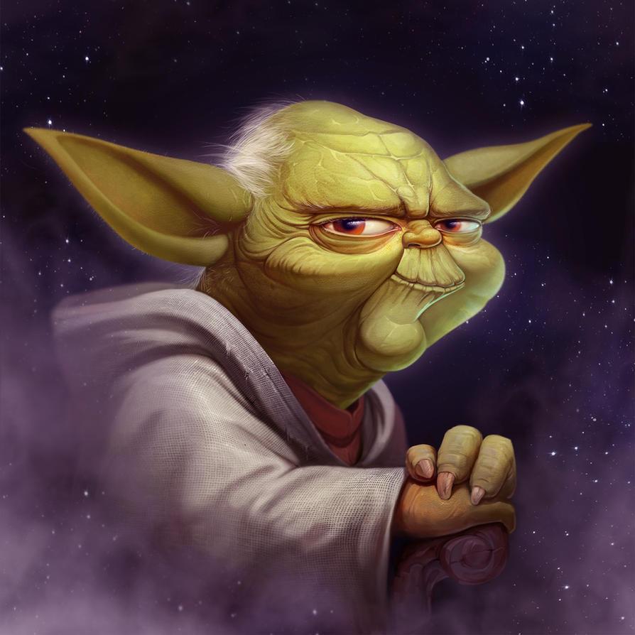 Yoda Fan Art by NestStrix