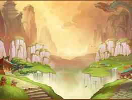 Background for slot game concept by NestStrix