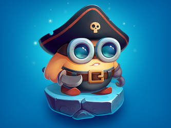Brofix Pirate Character