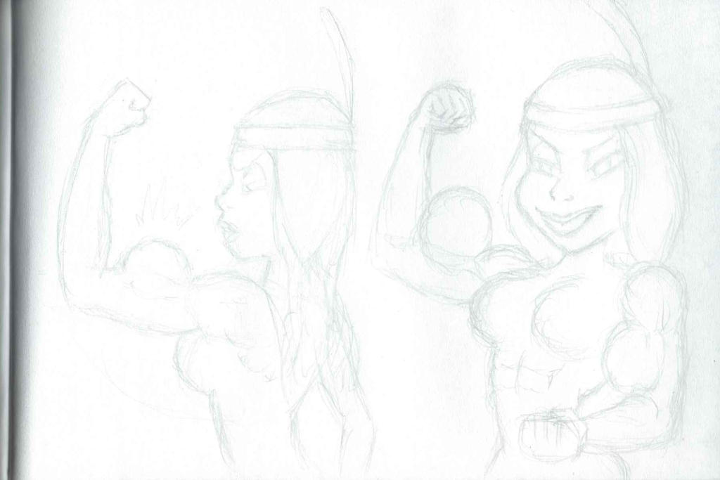 Unfinished 'Asterix' commission Pt.2 by CMGjim