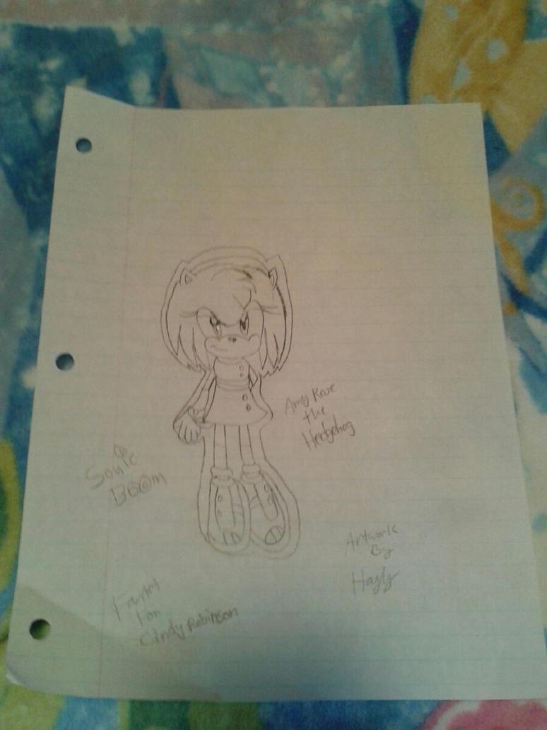FanArt Tribute To Cindy Robinson by SoniatheHedgehog365