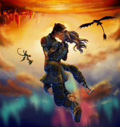 Falling Free by KHchick101