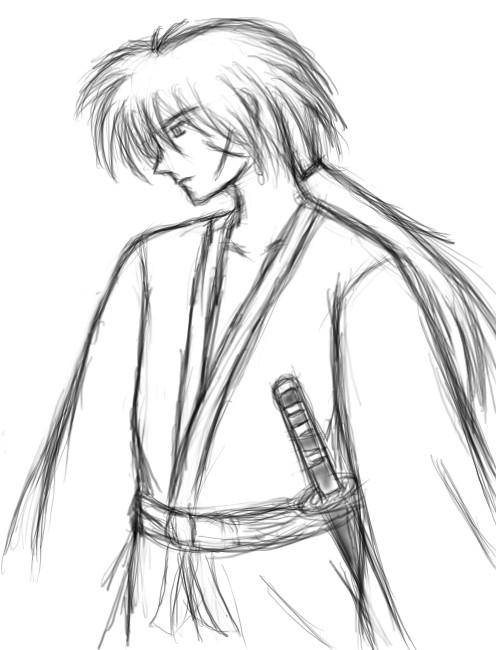 Kenshin Himura by AnimeCouples1992
