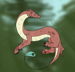 wingless dragon / drake