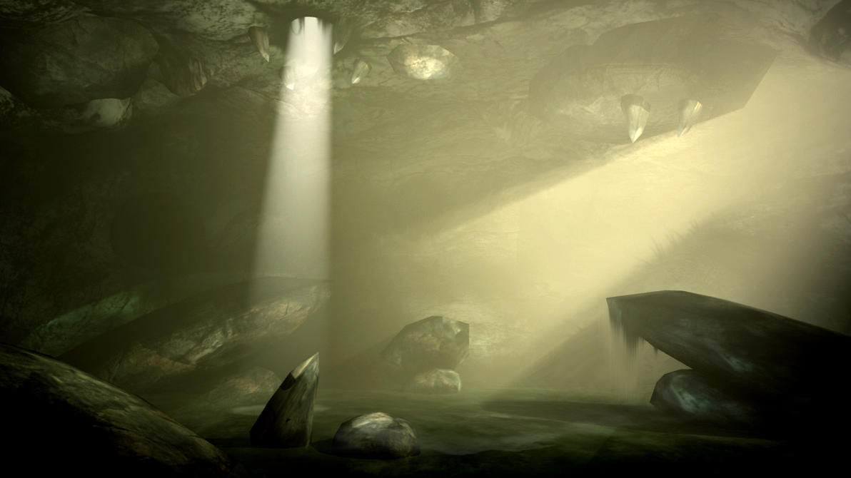 Darkness/Light Cave by Thibaut-M