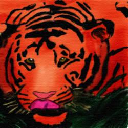 Tiger no.2 The Ukiyo Tiger
