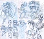 Random Summer 2005 Sketches