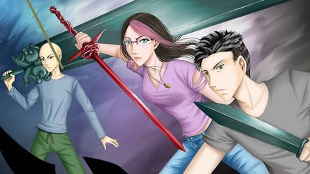 Helena Atreas, Kole Winters, Shiro Yamato