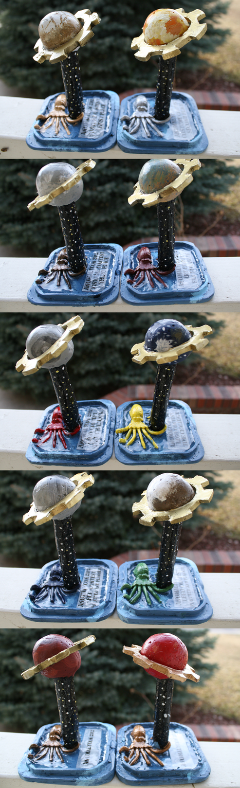 AnomalyCon 2012 Trophies by Curucar