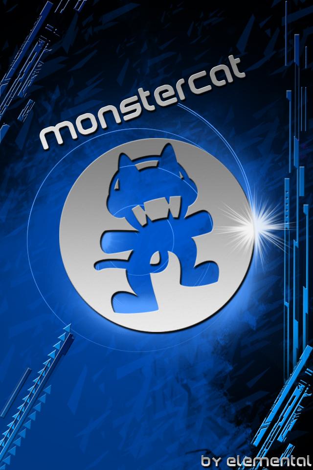 MonsterCat IPhone IPod Wallpaper By Elementalx7