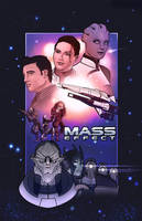 Mass Effect Poster by JGoogt