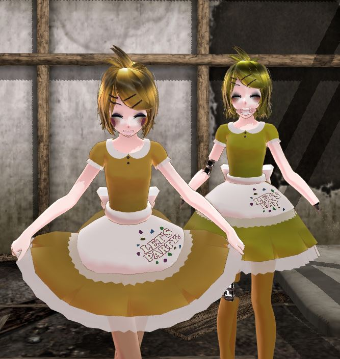 Mmd fnaf character profiles chica by mikuxlen4eves on deviantart