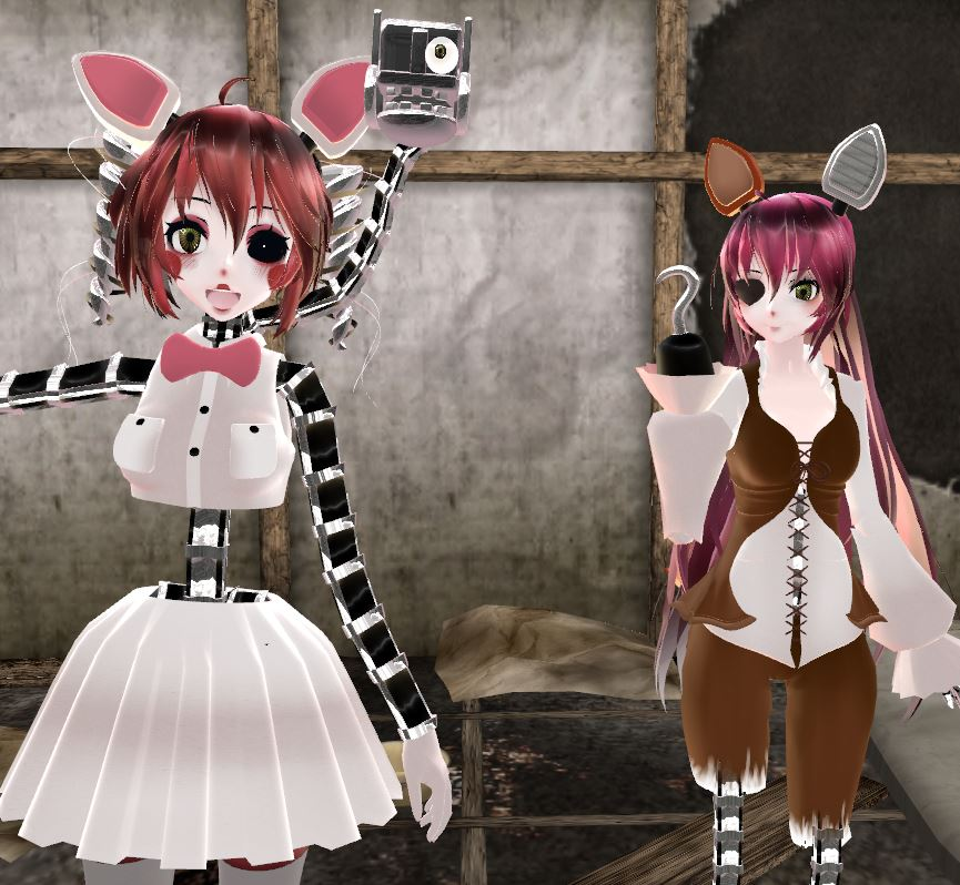 [MMD] FNaF Character Profiles: Foxy By Ccandybabe On
