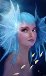 Mermaid Princess by AndrewCZ