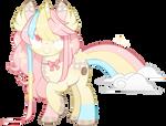 plush rainbow pony auction / CLOSED