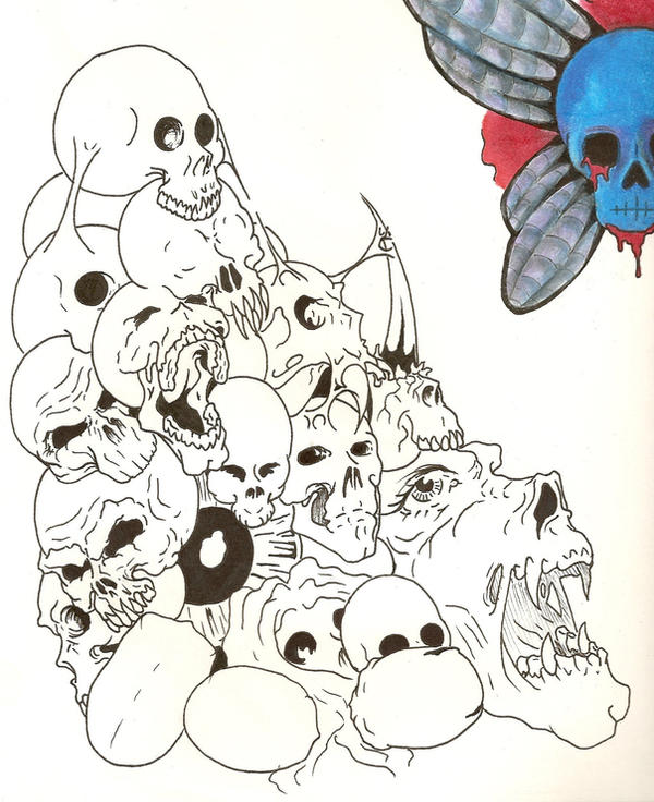 pin pile of skulls on pinterest. Black Bedroom Furniture Sets. Home Design Ideas