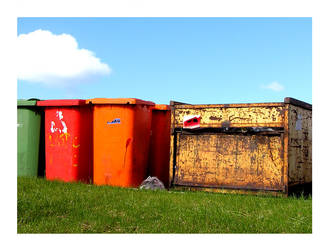 coke bins landscape by totorox