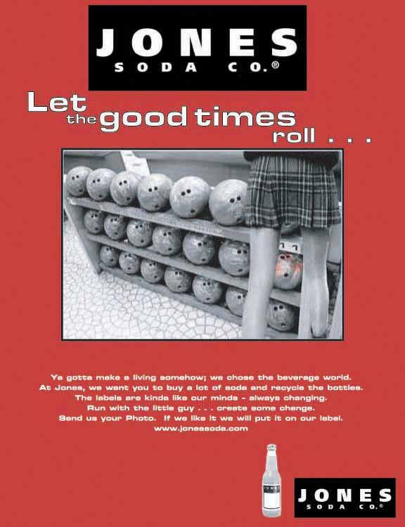 Jones Soda Ad by nfcwave