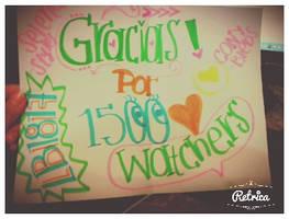 Gracias+1500watchers by EthernalSymphony
